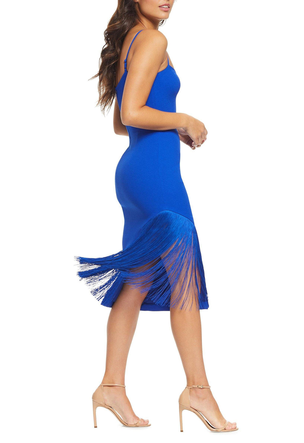 Rory Fringe Midi Dress