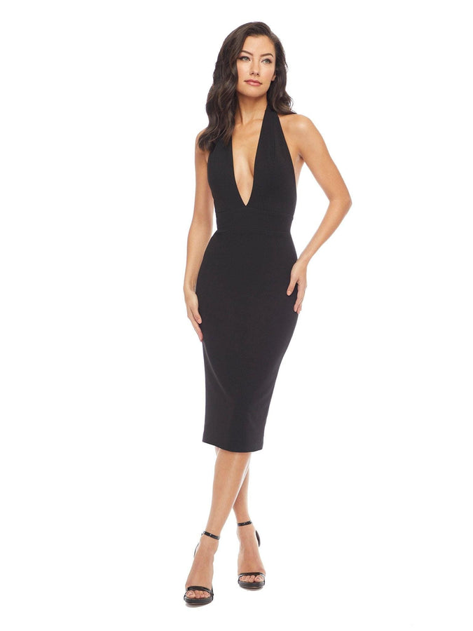 Vanessa Halter Body-Con Midi Dress