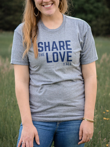 Share the Love Y'all - Premium T-Shirt