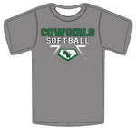 Southwest Guilford Softball Home Plate Tee