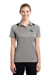 Ladies Polo Style Shirt With Cowgirls Logo Embroidered