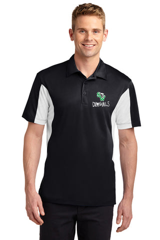 Polo Style Shirt With Embroidered Front Left Chest