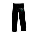 SweatPants Black - W/ Screen Print Logo