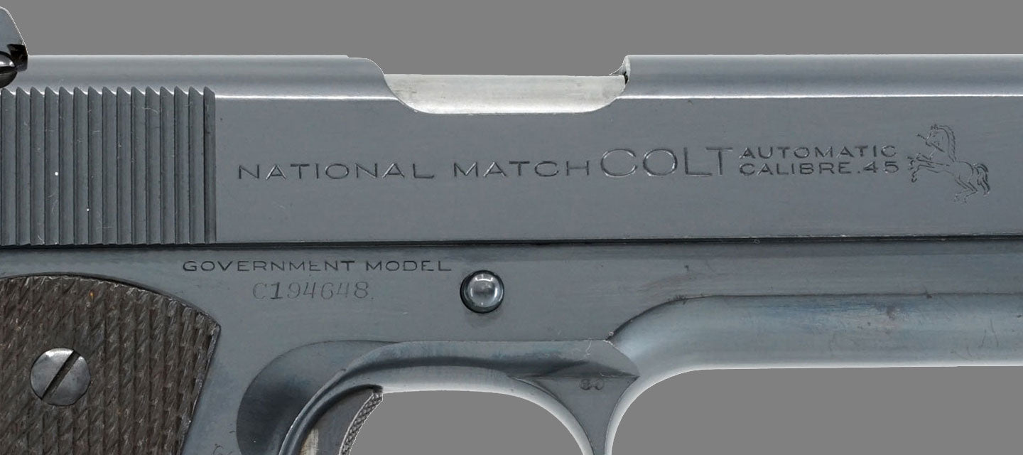 Colt Pre-War National Match