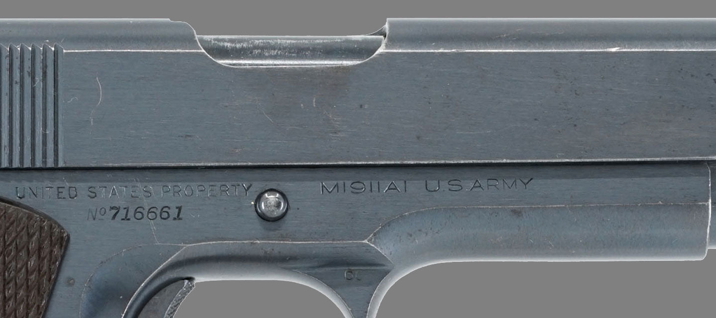 M1911A1 US Military Pistols