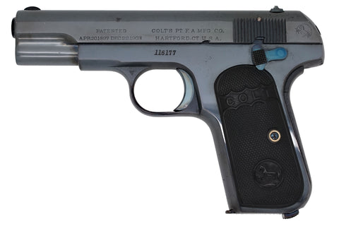 Colt 1903 Pocket Hammerless 32ACP SN:116177 MFG:1911