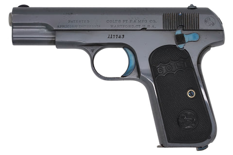 Colt 1903 Pocket Hammerless 32ACP SN:117743 MFG:1911