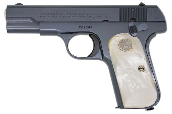 Colt 1908 Pocket Hammerless 380ACP SN:131848 MFG:1939