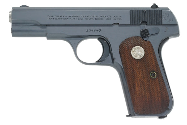 Colt 1908 Pocket Hammerless 380ACP SN:136640 MFG:1944 - Brigadier General Griffin