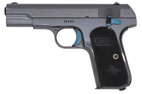 Colt 1908 Pocket Hammerless 380ACP SN:13960 MFG:1913