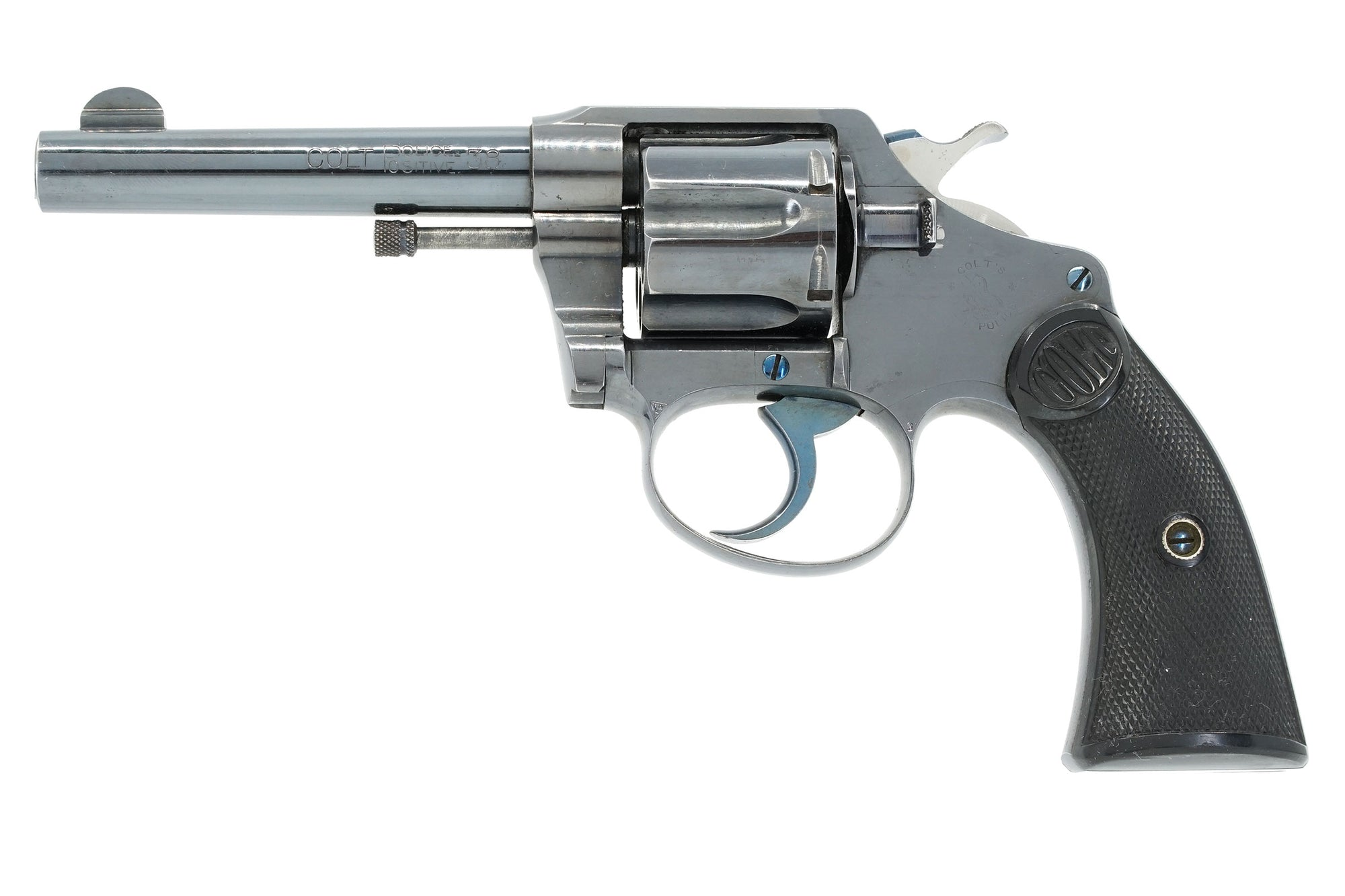 "Colt Police Positive 38 4"" SN:14607 MFG:1907 - Transitional"