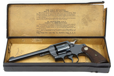 Colt Official Police 22LR SN:14830 MFG:1939
