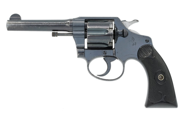 "Colt Police Positive 38 4"" SN:162149 MFG:1924 - Ford Security"