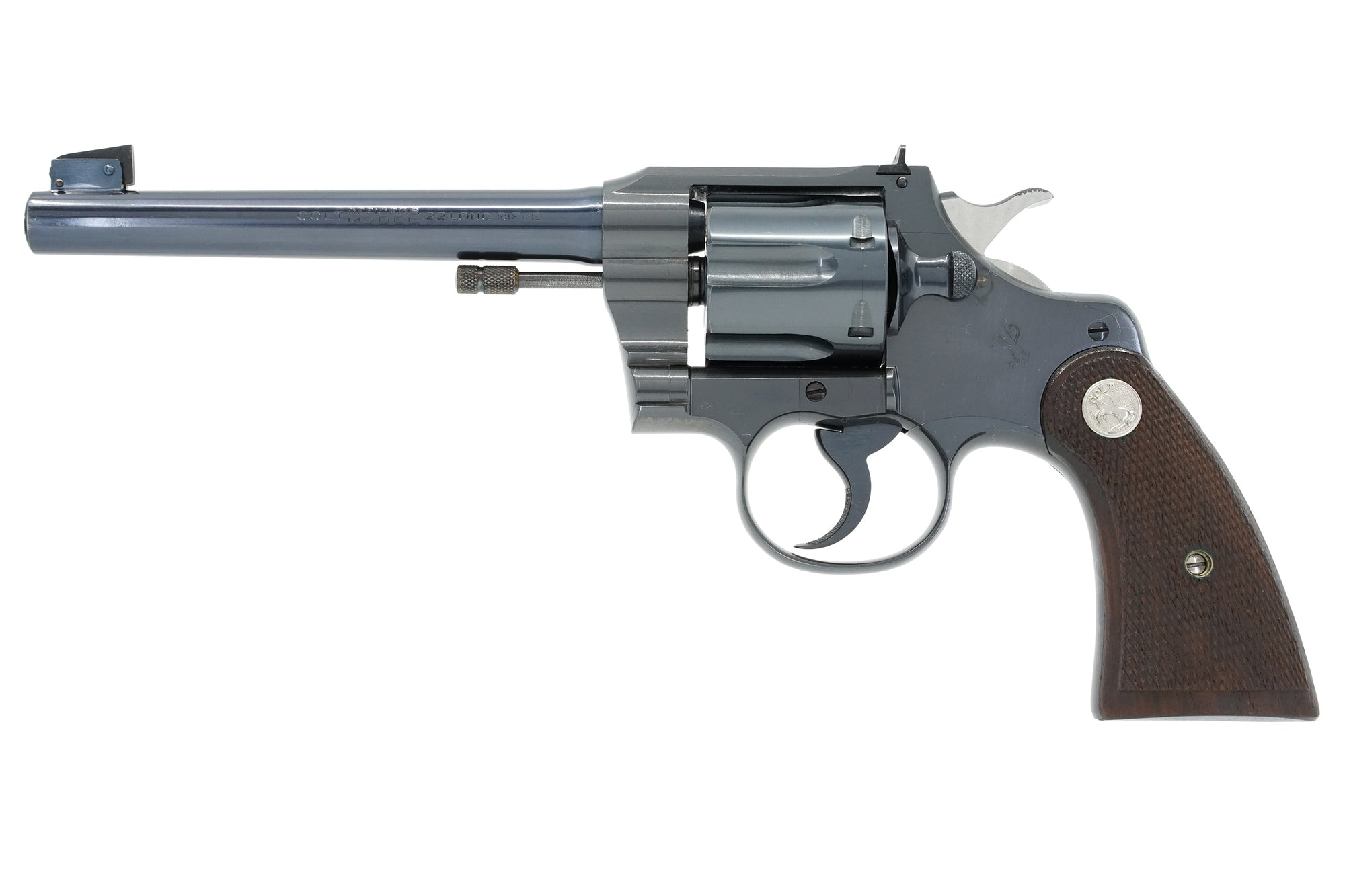 "Colt Officers Model Target 6"" 22LR SN:17597 MFG:1937"