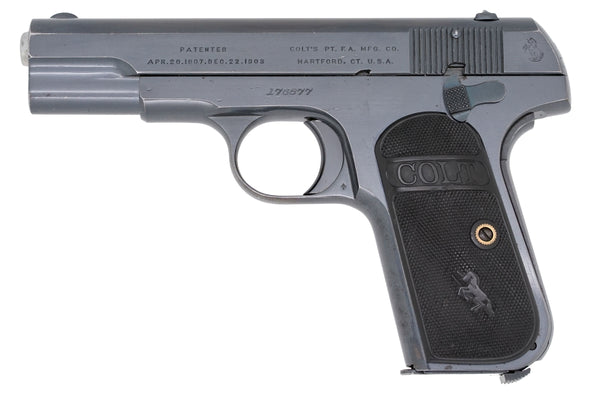 Colt 1903 Pocket Hammerless 32ACP SN:176877 MFG:1915