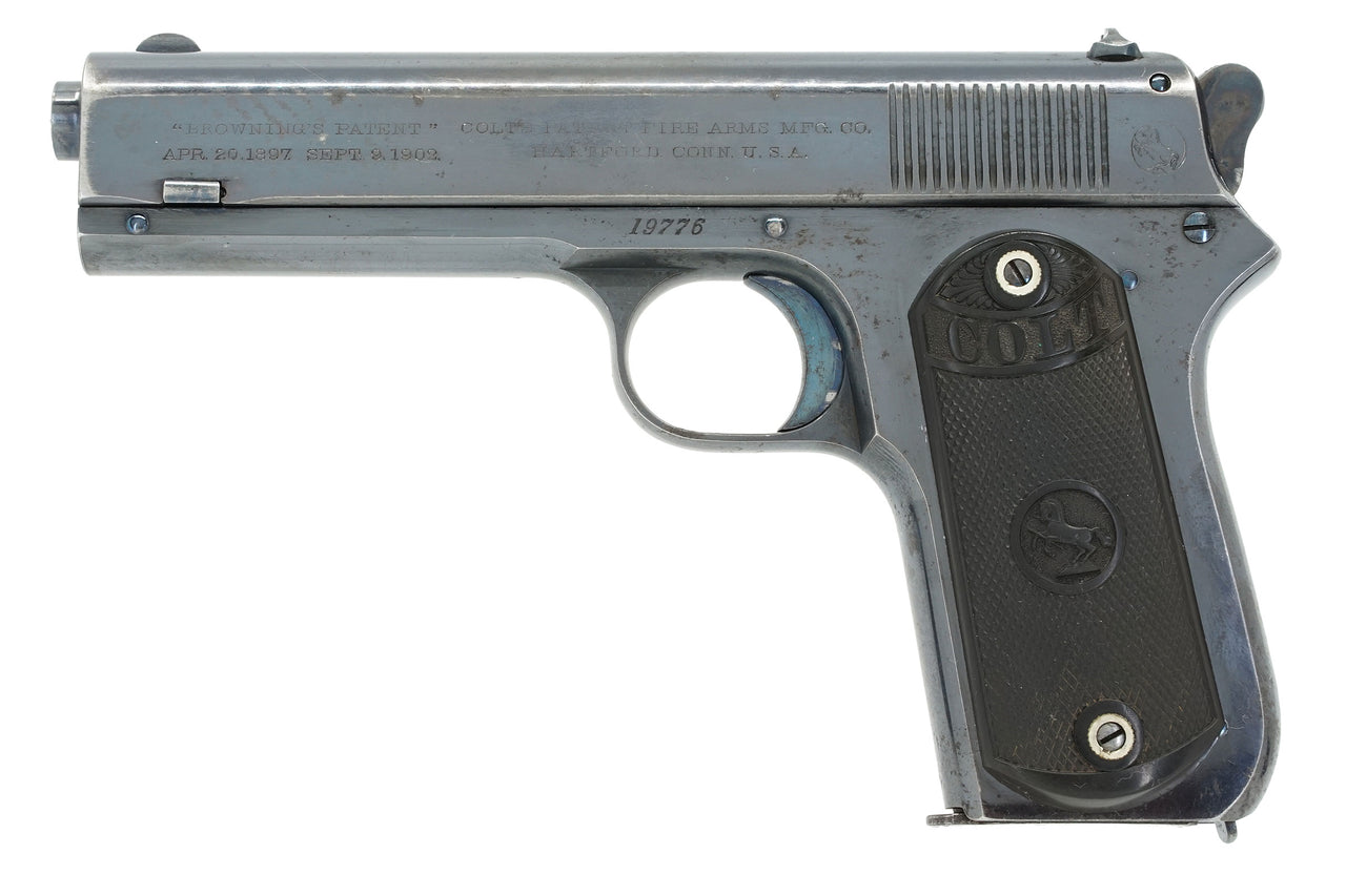Colt 1903 Pocket Hammer 38ACP SN:19776 MFG:1904