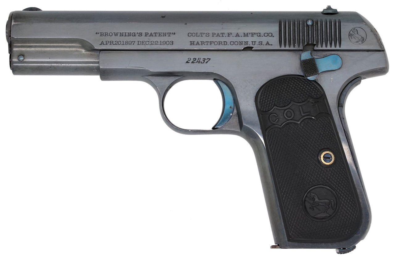 Colt 1903 Pocket Hammerless 32ACP SN:22437 MFG:1905