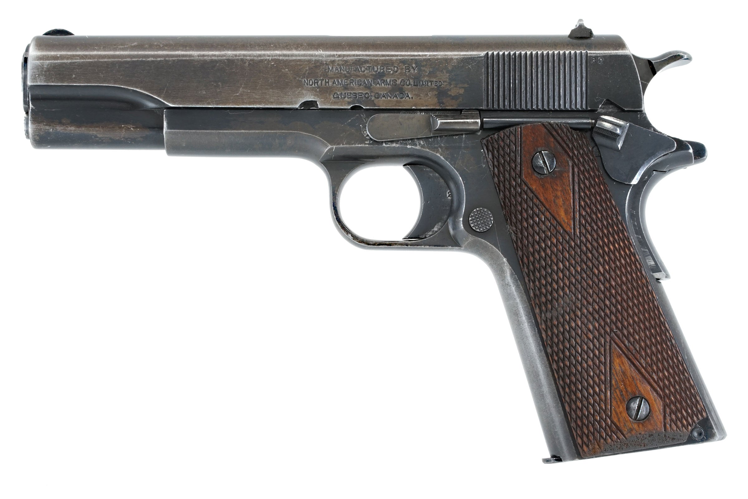 North American Arms M1911 45ACP SN:22 MFG:1918 – Old Colt