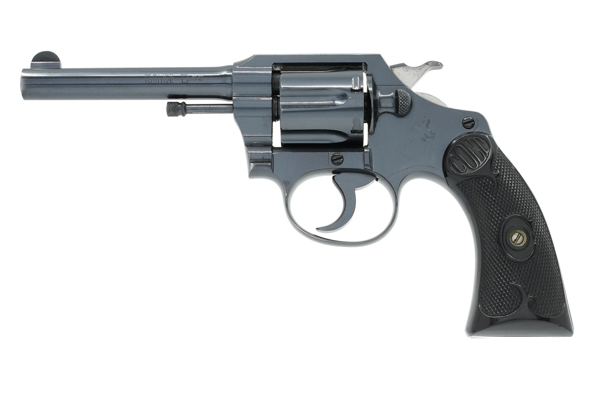 "Colt Police Positive 32 Colt 4"" SN:236881 MFG:1941 - Pequeno Model"