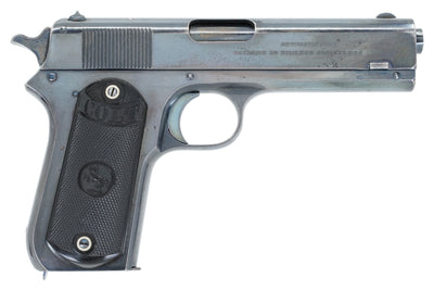 Colt 1903 Pocket Hammer 38ACP SN:27073 MFG:1910