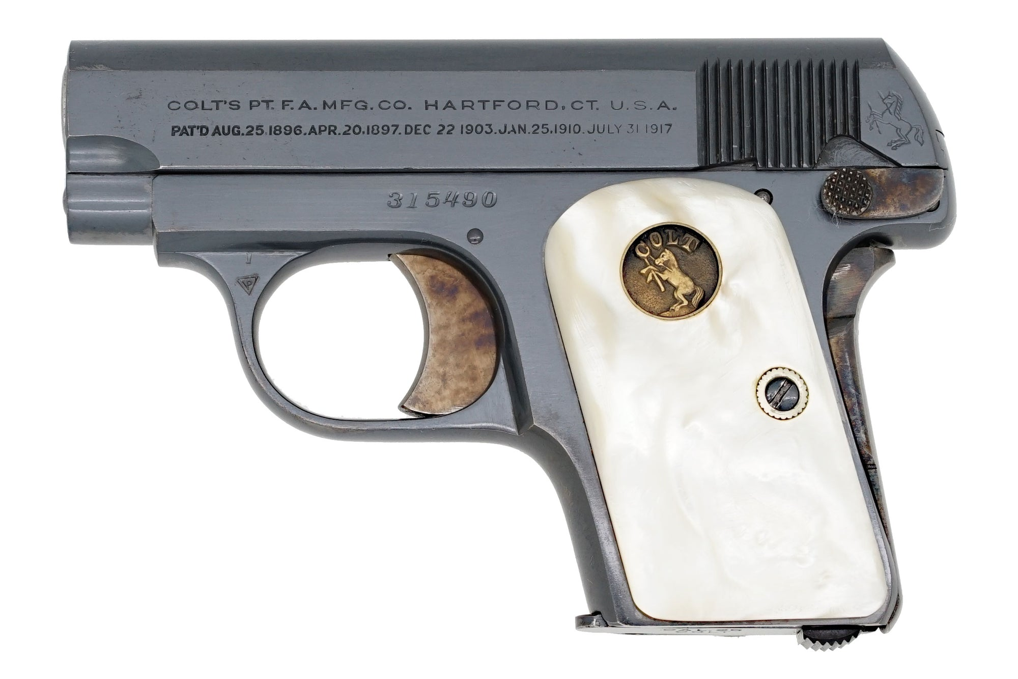 Colt 1908 Vest Pocket 25ACP SN:315490 MFG:1922