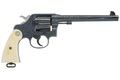 "Colt New Service 45 Colt 7 1/2"" SN: 321834 MFG: 1925 - Factory Engraved"