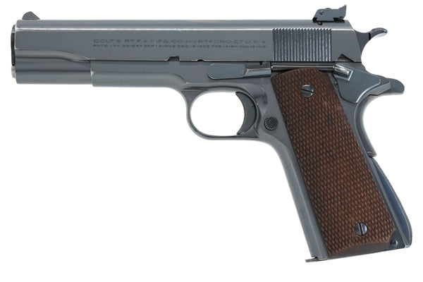 Colt Super Match .38 SN:33763 MFG:1940