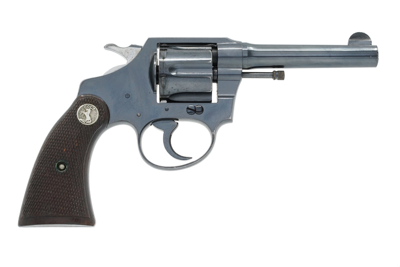 "Colt Police Positive 38 4"" SN:340523 MFG:1930 - Railway Express Agency"