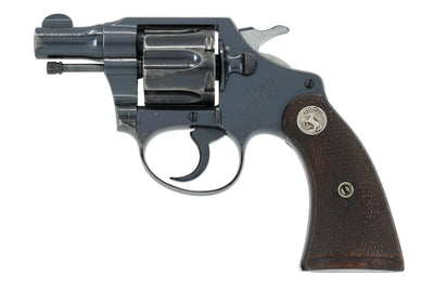 Colt Bankers Special 38 SN:342626 MFG:1931 - Railway Mail Service