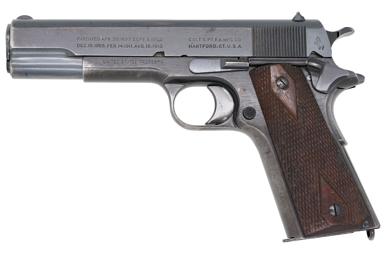 Colt M1911 45ACP SN:345795 MFG:1918 Commercial/Military