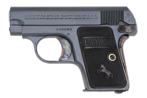 Colt 1908 Vest Pocket 25ACP SN:346263 MFG:1924