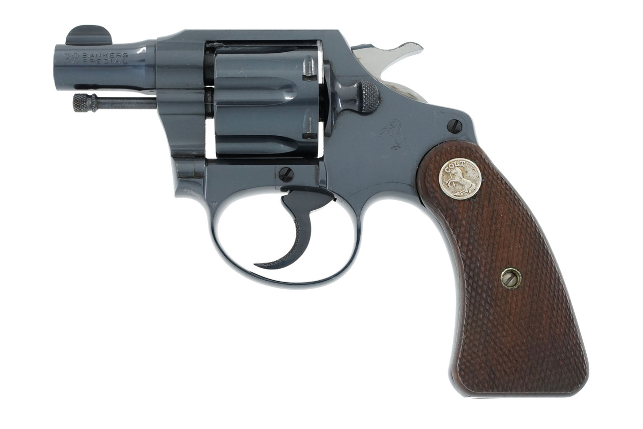 Colt Bankers Special 38 SN:371296 MFG:1938