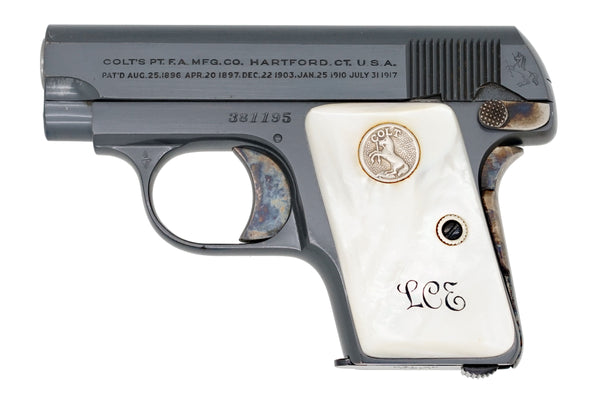 Colt 1908 Vest Pocket 25ACP SN:381195 MFG:1929
