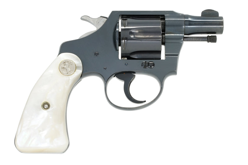 Colt Bankers Special 38 SN:398145 MFG:1947