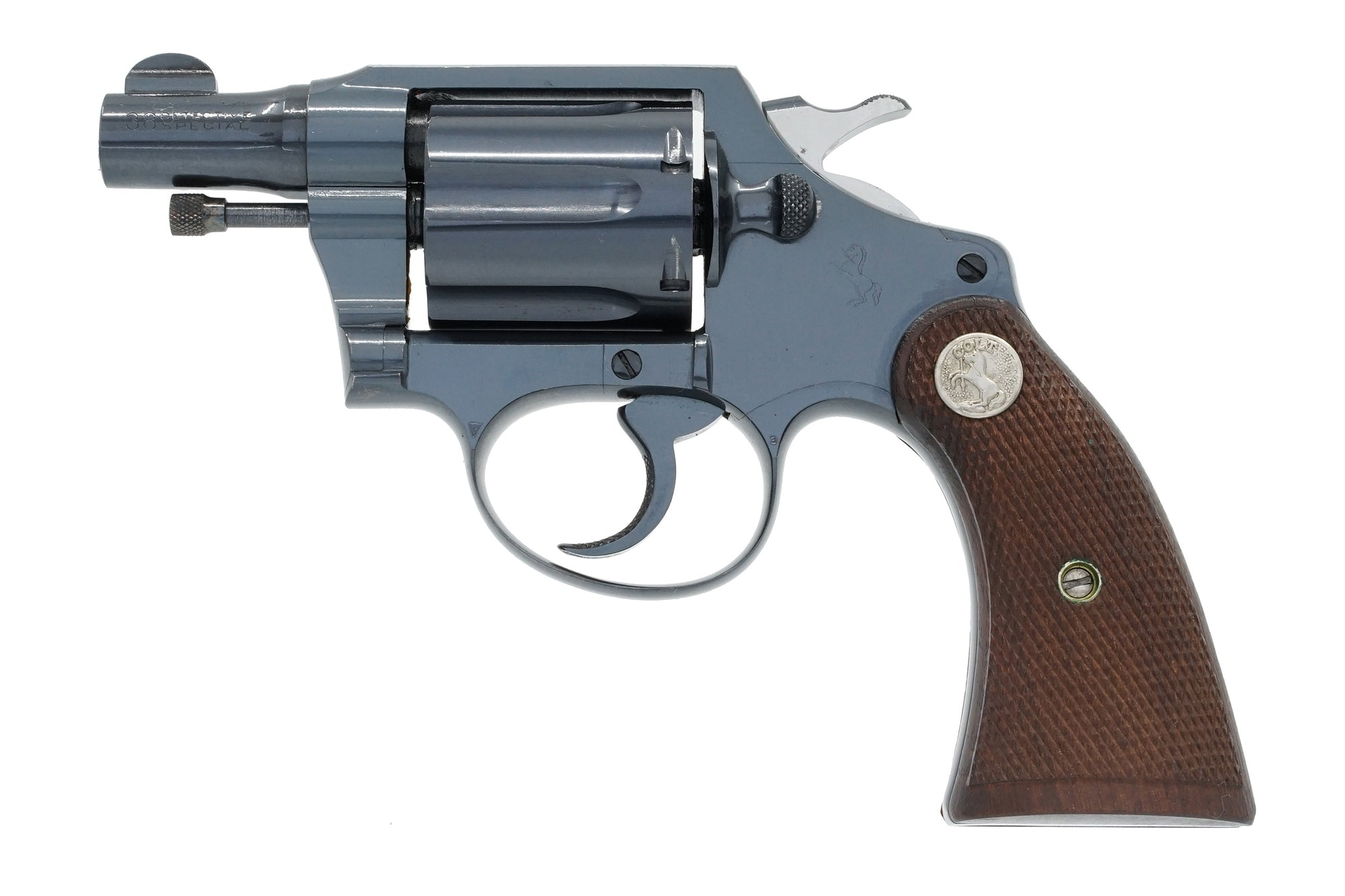 Colt Detective Special 38 SN:398742 MFG:1930 - Police Chief Vardalis