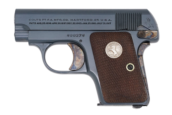 Colt 1908 Vest Pocket 25ACP SN:400374 MFG:1936