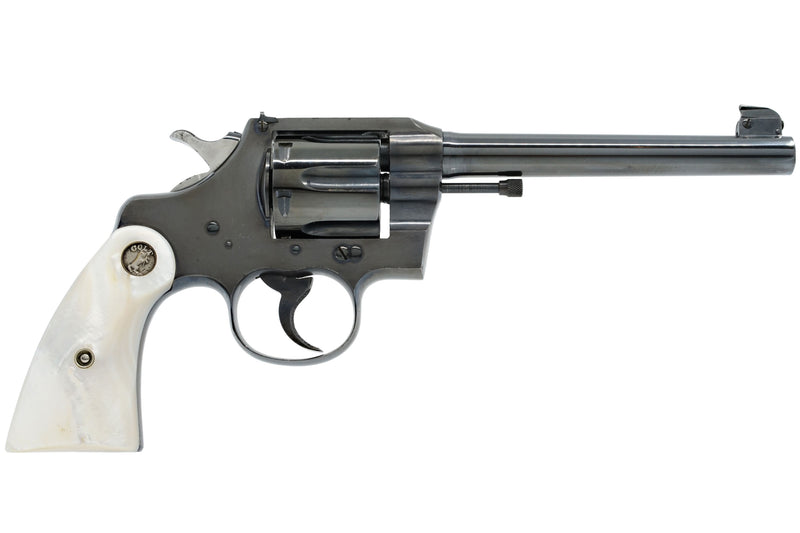 "Colt Officers Model 6"" 38 Special SN:407556 MFG:1915 - SKINNER"