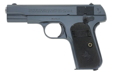 Colt 1903 Pocket Hammerless 32ACP SN:408610 MFG:1922