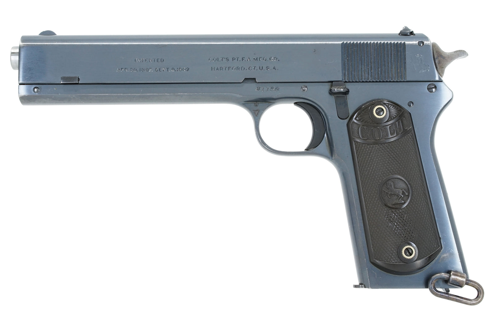 Colt Model 1902 Military and 1902 Sporting - Old Colt