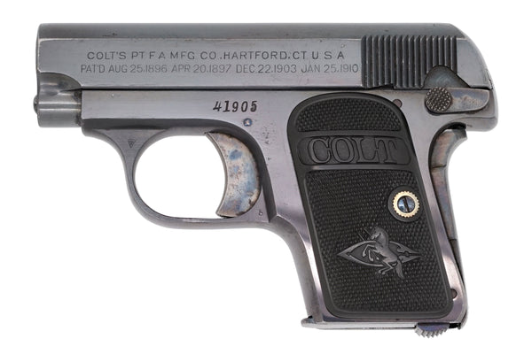 Colt 1908 Vest Pocket 25ACP SN:41905 MFG:1910