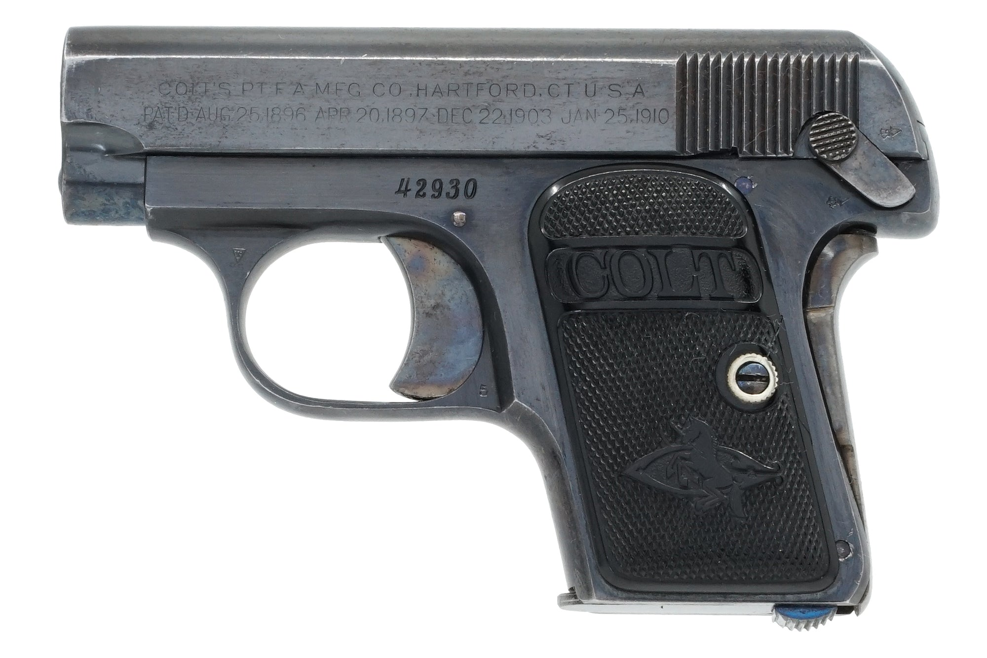 Colt 1908 Vest Pocket 25ACP SN:42930 MFG:1911