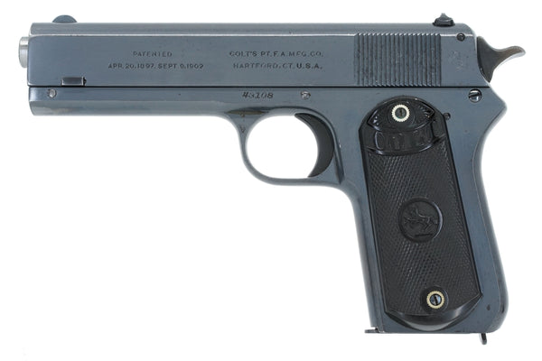 Colt 1903 Pocket Hammer 38ACP SN:43108 MFG:1921