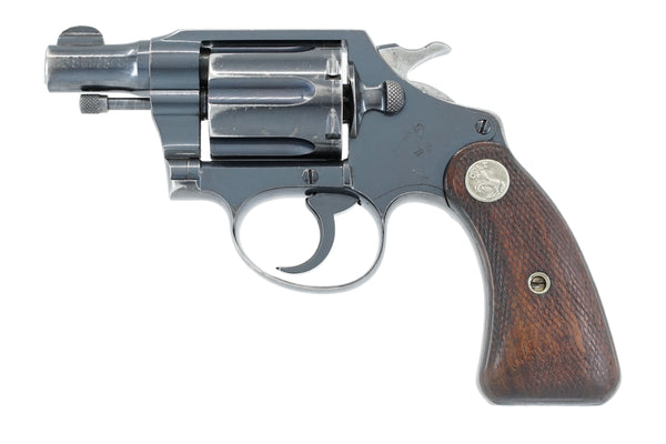 Colt Detective Special 38 SN:444747 MFG:1941 - Colorado Penitentiary