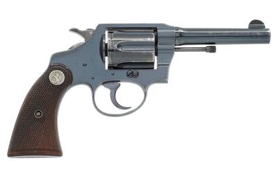 "Colt Police Positive 38 Special 4"" SN:468625 MFG:1941 - US Customs"