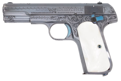 Colt 1903 Pocket Hammerless 32ACP SN:49687 MFG:1906 Factory Engraved