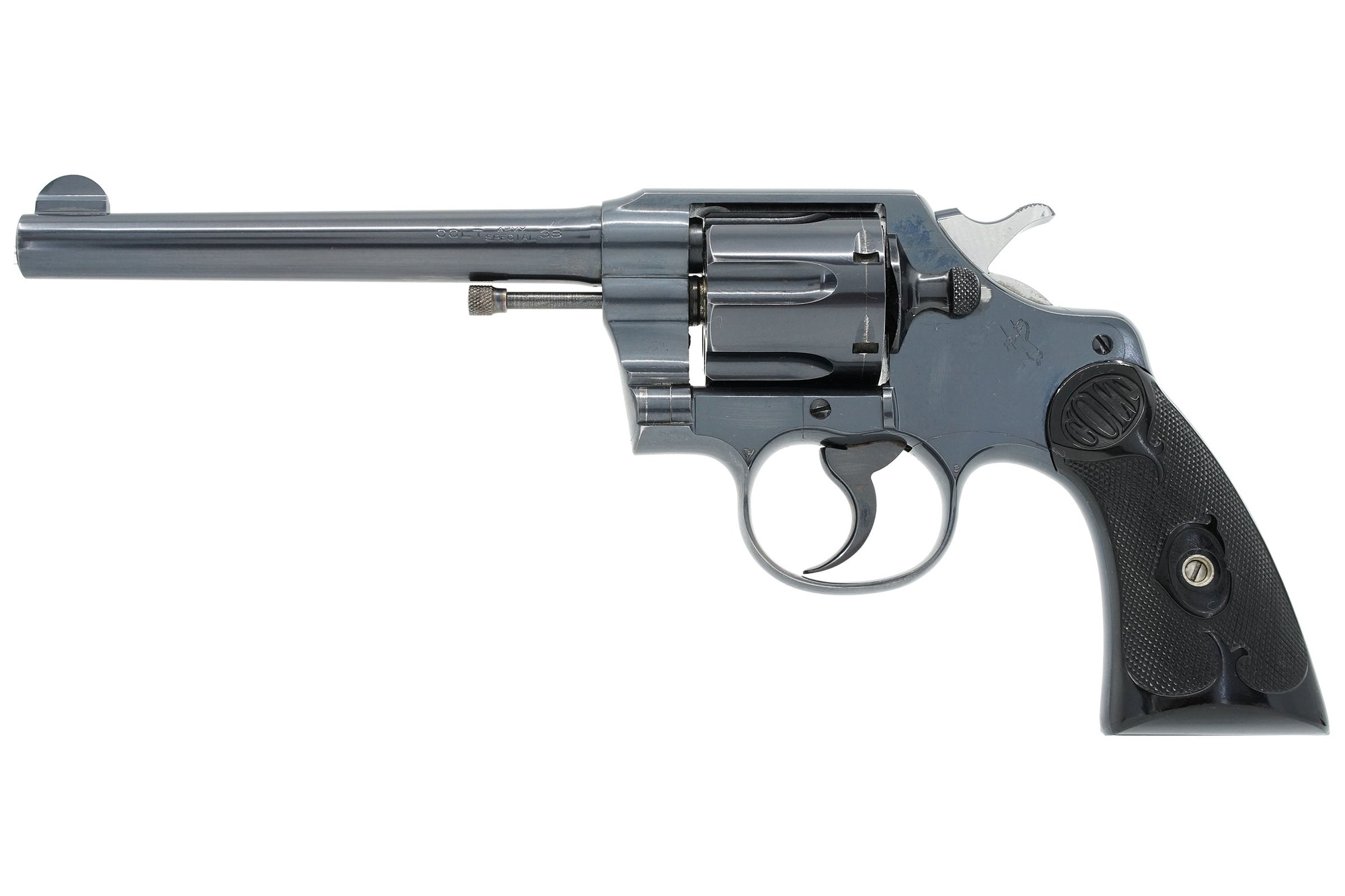 "Colt Army Special 6"" 38 Special SN:518637 MFG:1925"