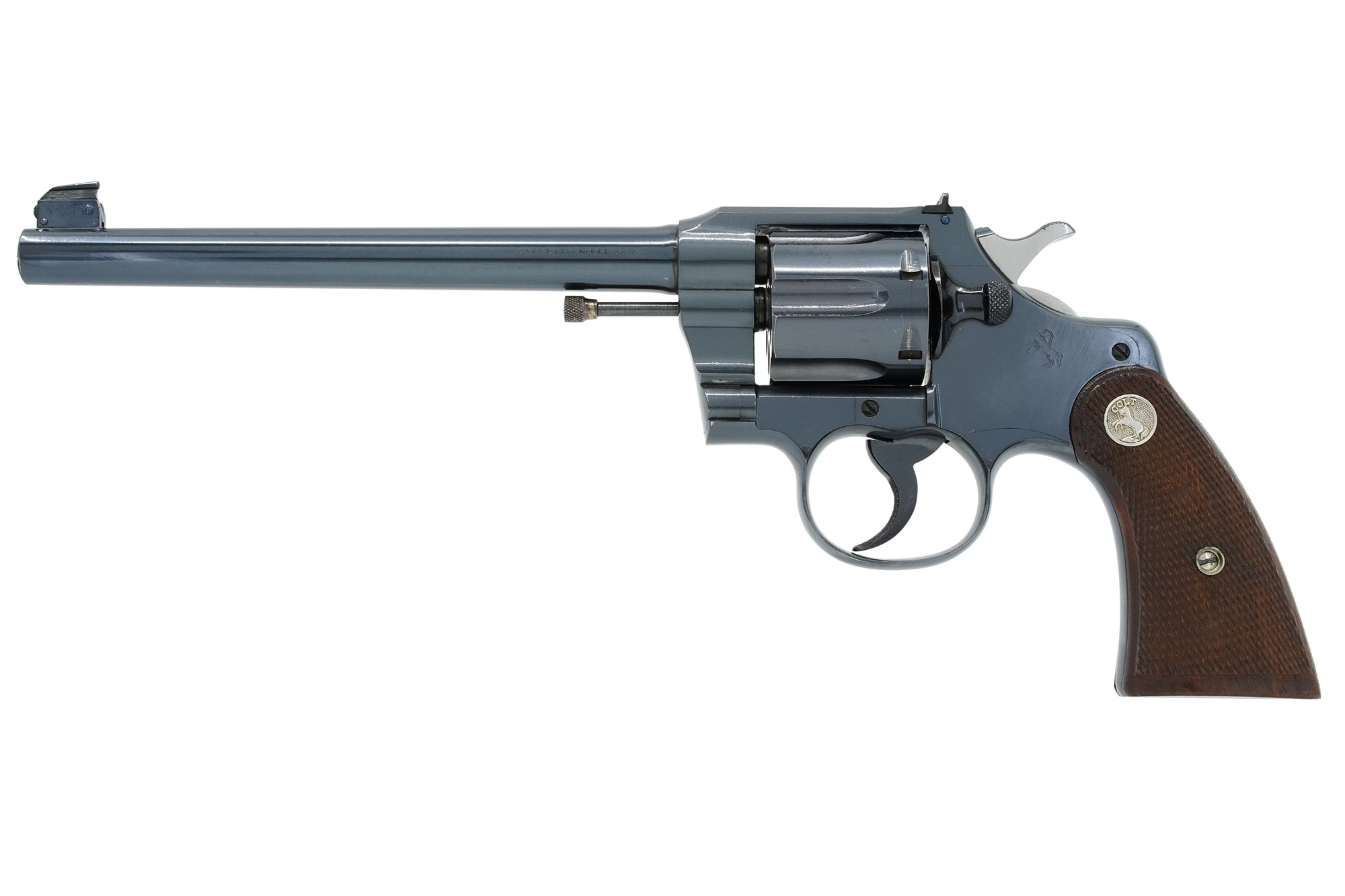 "Colt Officers Model Target 7 1/2"" 38 Special SN:529292 MFG:1928"