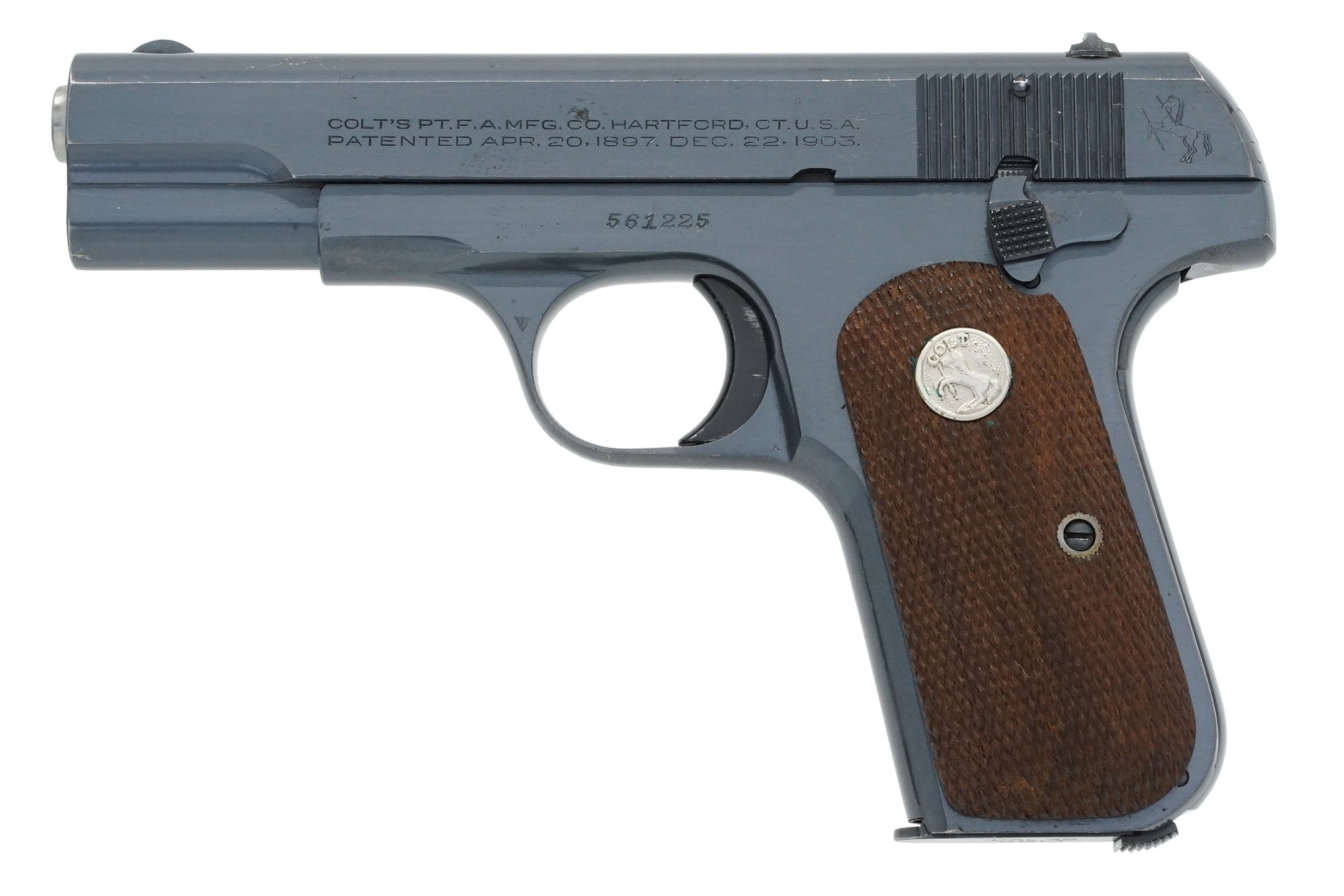 Colt 1903 Pocket Hammerless 32ACP SN:561225 MFG:1944