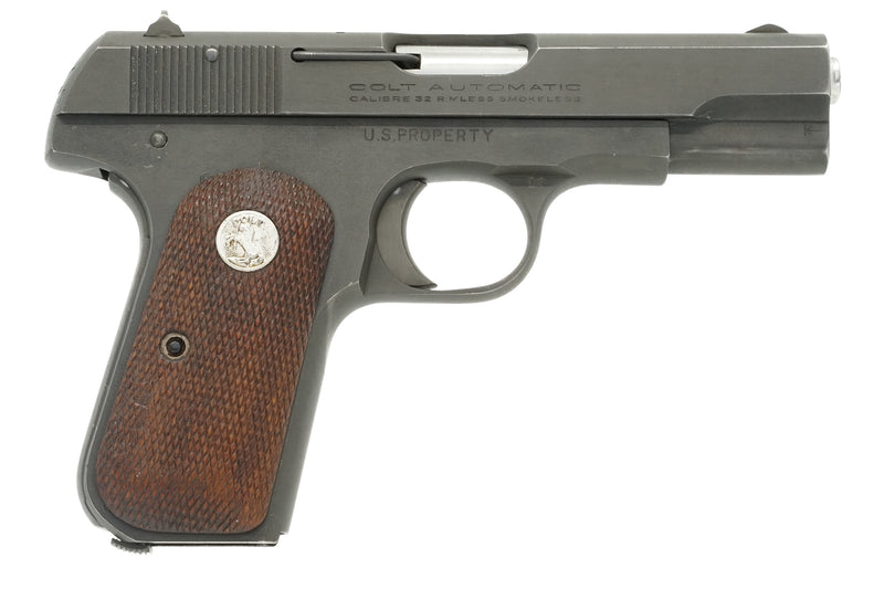 Colt 1903 Pocket Hammerless 32ACP SN:566911 MFG:1944 - Brigadier General Scherrer