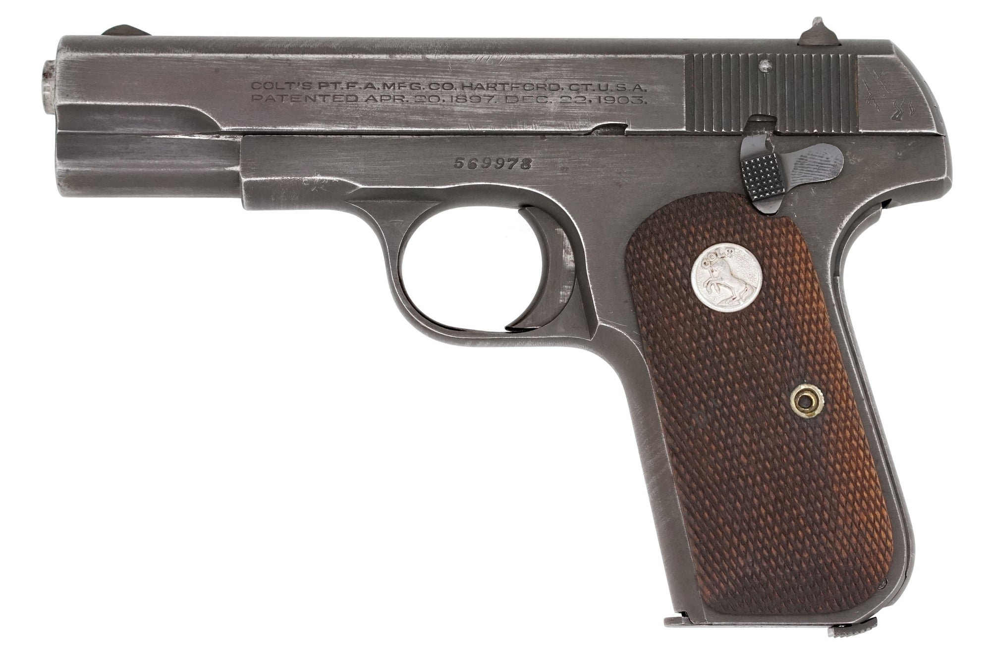 Colt 1903 Pocket Hammerless 32ACP SN:569978 MFG:1945 - MIS